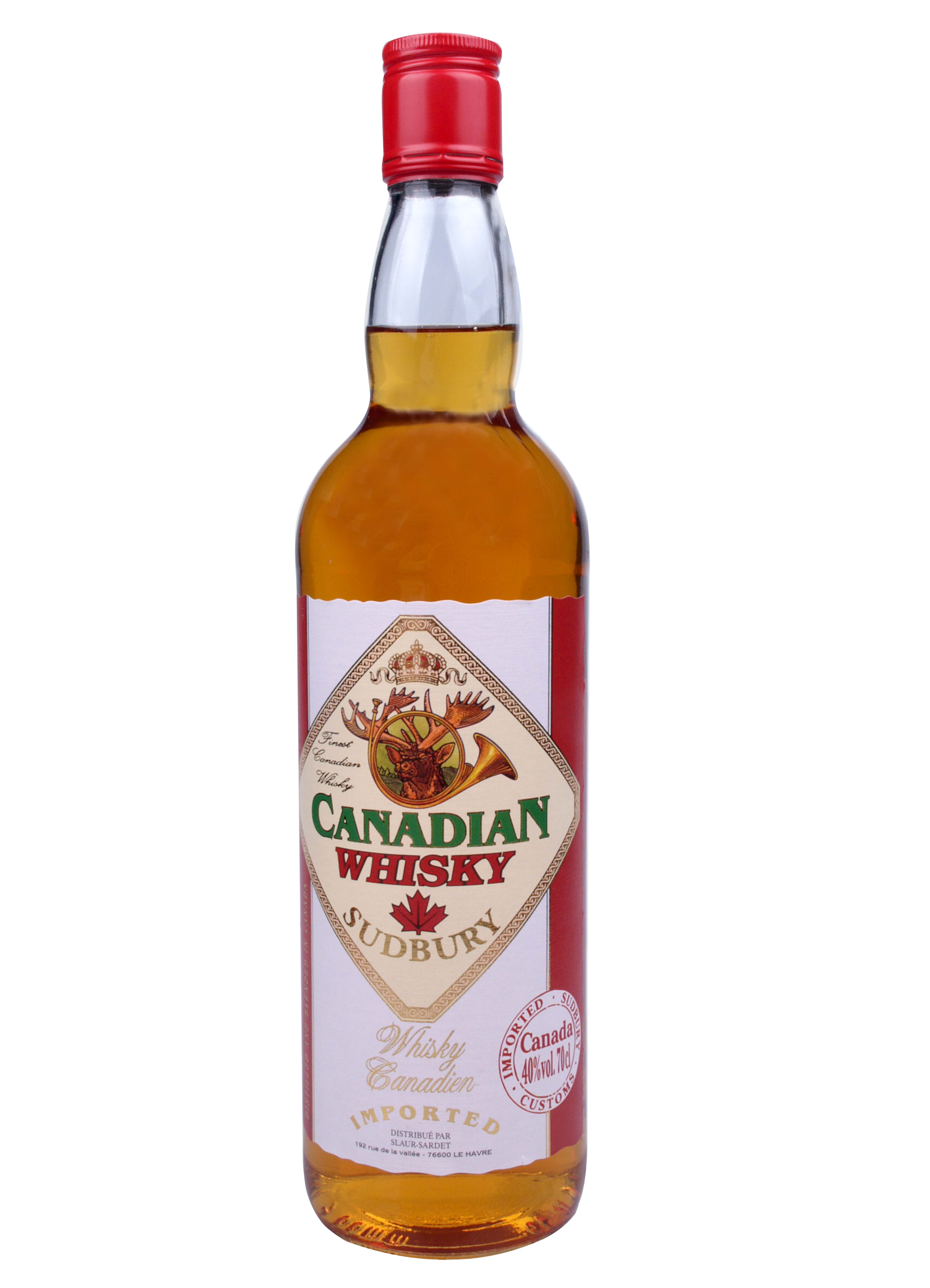 Whisky Canadien Sudburry
