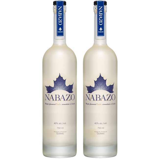 lot de 2 Vodka à l'érable Nabazo