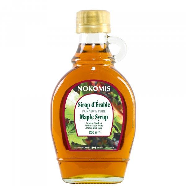 Sirop d'érable 100% pur - Bouteille verre 189 ml - Qualité médium N°1