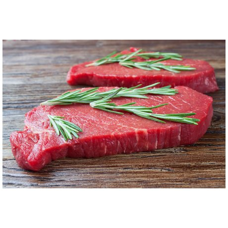 Steaks de bison dans la tranche 2 x 200 g environ (400 g minimum)