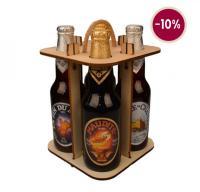Coffret 4 bières Unibroue